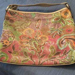 Whitting & Davis Multicolor Mesh Handbag